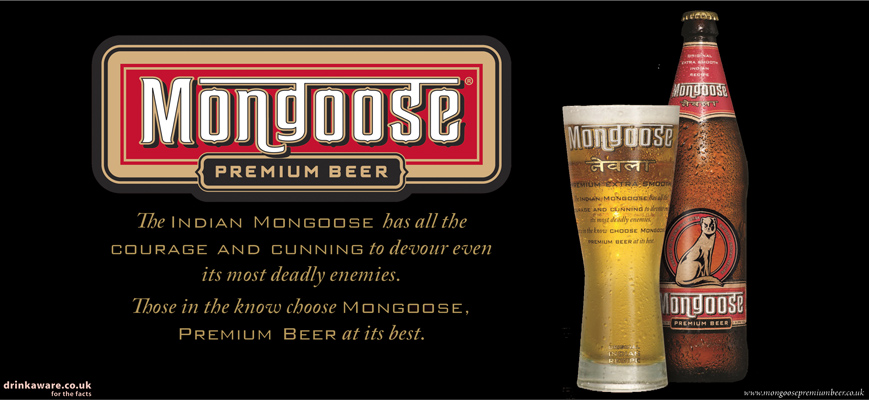 Mongoose Premium Beer Ad