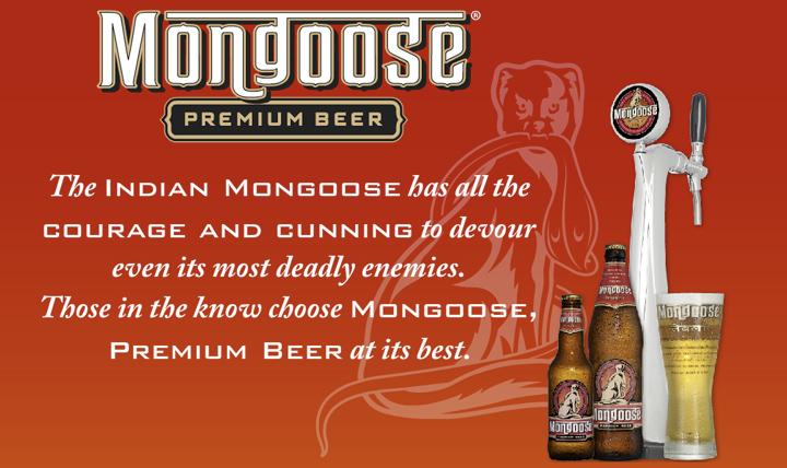 Mongoose Premium Draught Beer