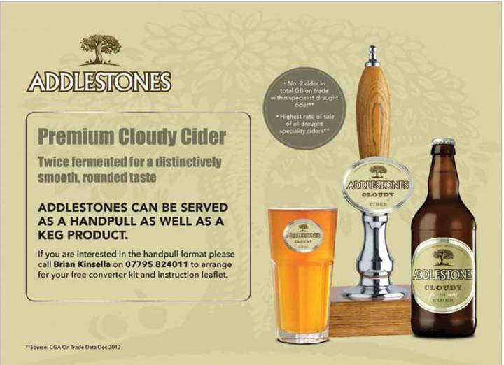 Addlestones Premium Draught Cider