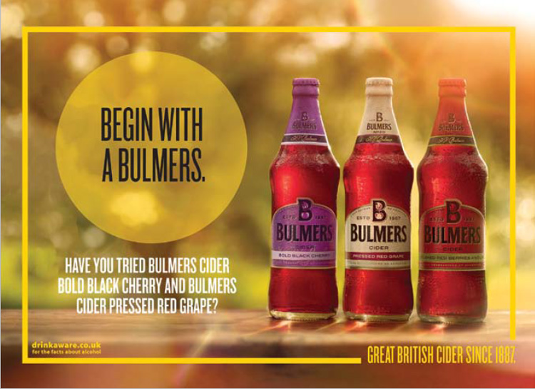Bulmers Packaged Cider