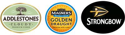 Draught Cider Logos