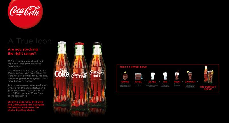 Coca-Cola-advert - Soft Drinks