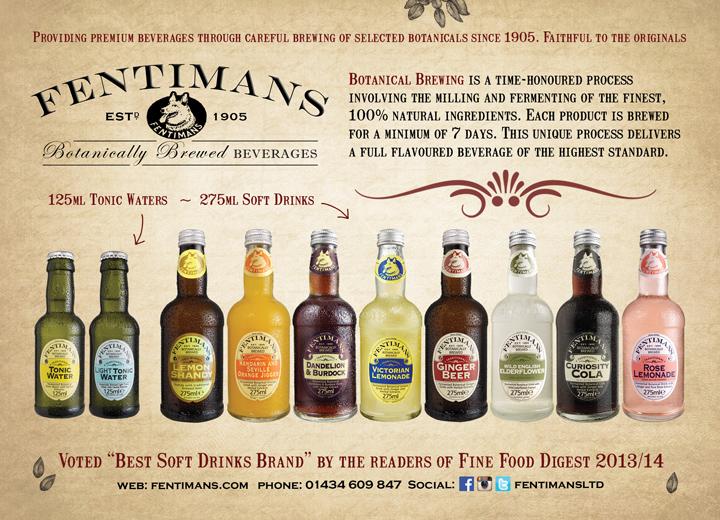 Fentimans advert - Mixers & Tonics