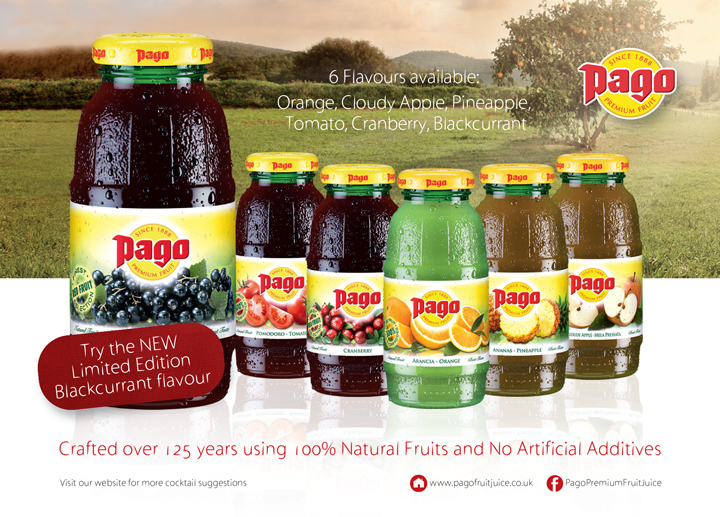 Pago Juices -Advert -